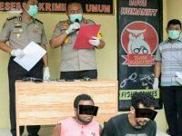 Hebat! Polisi Amankan Senpi Ilegal dan 2 Tersangka di Manado