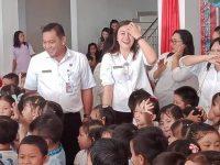 Ratusan Anak PAUD Padati Kantor Bupati Mitra