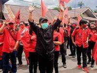 Terkait Pembakaran Bendera, DPC PDI Perjuangan Mitra Laporkan Kasus Tersebut Ke Polisi