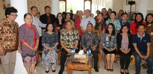 Wali Kota Tomohon Hadiri Prayer Gathering Regional