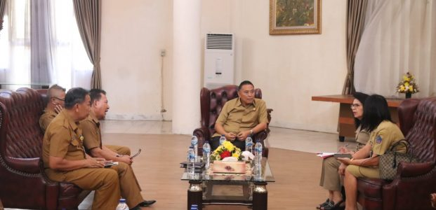 Wali Kota Tomohon Apresiasi Inspektorat Sulut