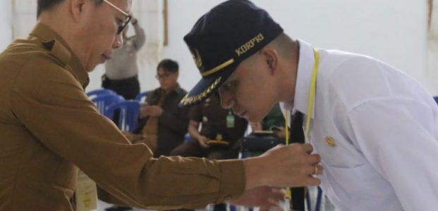 Wali Kota Jimmy Eman Harap Kehadiran CPNS Dapat Perkuat Pemerintah Kota Tomohon
