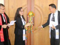 Ditahbiskan Ketua Sinode Hein Arina, Jimmy Eman Resmikan GMIM Wilken Tomohon