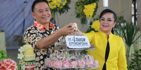 Pasangan EMAS Bersyukur di 4 Tahun Kepemimpinan