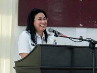 Tangkal Corona, Bupati Evangelian Bermohon Kepada Warga Sitaro Tunda Pulang Kampung