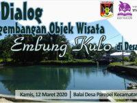 Prakarsai Launching Masterplan Embung Kulo Parepei, KKN IAKN Manado Gelar Dialog Wisata