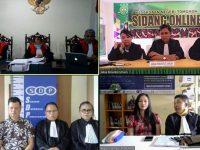 Eks Kabag Hukum Tomohon Divonis 4 Tahun dan Ganti Rugi 935 Juta Lebih Melalui Sidang Online