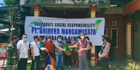 P.T BMW Bantu Ribuan Paket Bapok Untuk Masyarakat Terdampak Covid di Minahasa Utara