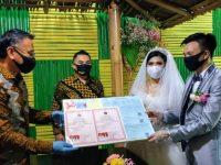 Di Tengah Pandemi Corona, Jimmy Eman Catat Nikah Keluarga Hizkia
