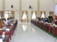 Pansus dan Perangkat Daerah Bahas LKPJ Wali Kota Tomohon 2019