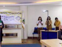 Dipimpin Gbl GSJA Agape, Pemkot Tomohon Gelar ibadah Live Streaming