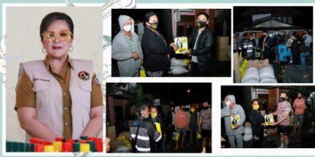 Rumah Hangus Terbakar, SAS Bantu Empat Keluarga