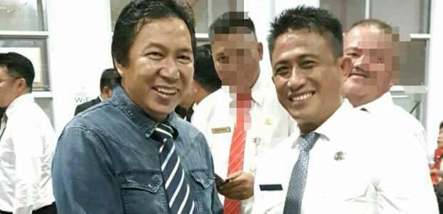 Denny.A.E.Pangkey,S.Sos Resmi Jabat Sekretaris Kelurahan Lowu  Utara