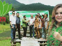 HKTI Sulut Berikan Bantuan Bibit Padi M70D di Taratara