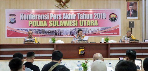 Wow..! Polda Sulut Selamatkan Hampir 600 Juta,  namun Hanya Begini Progres Tahun 2019